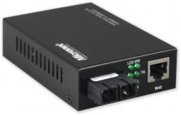 CONV-GT-802S 1 Gbps, 10 km, SM-SC, duplex