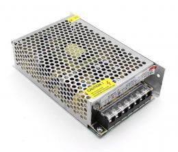 CPS120-12 spínaný zdroj 12V_10A, plechový kryt, 120 W, ochrany, LED