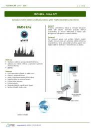 Dahua - mobilní aplikace DMSS DMSS pro Android, iOS