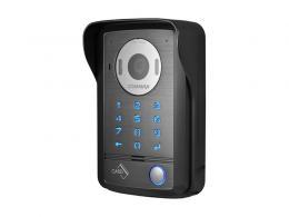 DRC-40DKHD dveř. stan., 1 tl., HD r, kód, RFID, povrch.