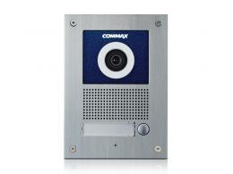 DRC-41UN dveřní stanice s kamerou, 1 tlač., CVBS