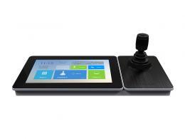 """DS-1600KI(B) klávesnice pro PTZ a DVR/NVR, WiFi/LAN, HDMI, 10""""LCD"""