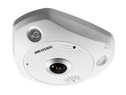 DS-2CD6365G0E-IVS(1.27mm)(B) 6MPix, IP FISHEYE kamera; 1,27mm; WDR 120dB; IR 15m