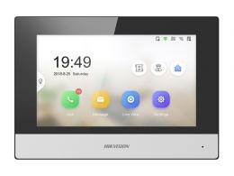 "DS-KH6320-WTE2(EU) IP videotelefon 7"", 2-vodičový, WiFi, černo-stříbrný"
