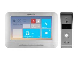 DS-KIS203 Ekonomická sada videotelefonu ; 4-vodičový systém
