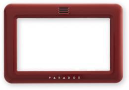 FPLATE - červená barevný rámeček pro TM50
