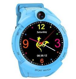 GPS hodinky GW600 Cam Blue dětské hodinky s GPS a kamerou