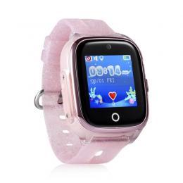 GPS Hodinky s GSM KT01 Pink dětské hodinky s GPS