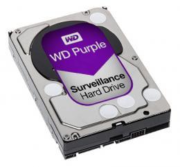 HDD-3TB WD Purple 3 TB, 64 MB cache, 6 Gb SATA., 5400 ot.