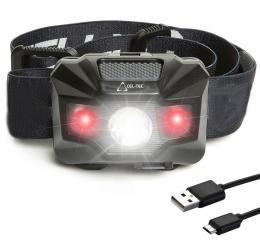 HL150R nabíjecí čelová svítilna