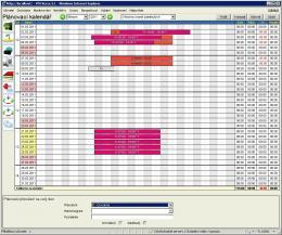 INTEGRAL - grafické plánování docházky