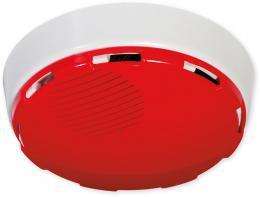 AD - červená kryt ploché sirény