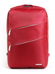 """Bag Evolution K8533W - červená 15.6"""" red backpack"""
