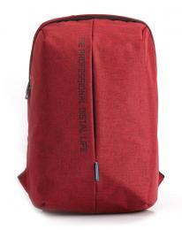 """Bag Pulse KS3123W - červená laptop batoh 15.6"""""""