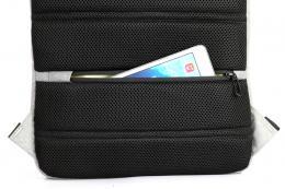 """Bag Pulse KS3123W - šedá laptop batoh 15.6"""""""
