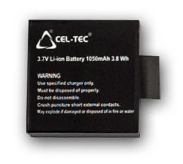 Baterie BW01 Li-ion aku pro Black Wolf
