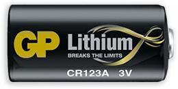 Baterie CR123A - GP lithium pro požární detektor SD360