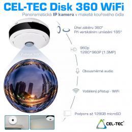Kamera Disk 360 Wi-Fi panoramatická IP kamera