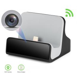 Kamera Dock iOS Wifi GF skrytá kamera v dokovací stanici