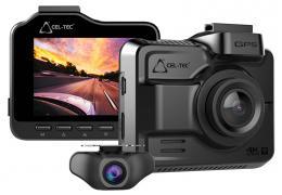Kamera K4 DUAL GPS ULTRA HD kamera do auta