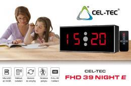 Kamera v hodinách FHD 39 Night E ve stolních hodinách