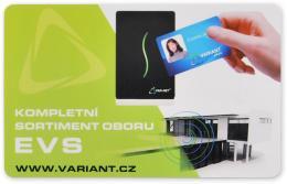 Karta standard + potisk EM 125kHz, potisk zákazníka