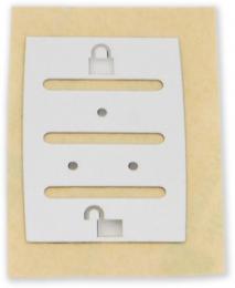 Membrána pro REM15 tlačítkové pole pro klíčenku