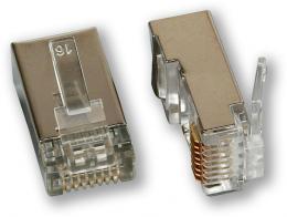 MP-080 C6 FTP konektor, 8P8C, C6 stíněný