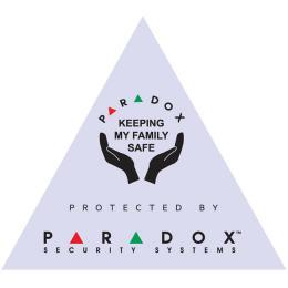 """Nálepka """"PARADOX"""" fialová zvenku i zevnitř"""