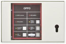 OPPO obslužný panel požární ochrany