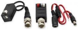 PFM-4501AP aktiv.vysílač/pasiv.přijím. TP/BNC CVI/AHD/TVI/Analog, 4K, pár