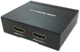PFM701-4K HDMI distributor 1x2, 4K, ESD, aktivní
