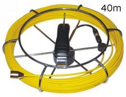 Pipe Cam 40 kabel kabel 40 m