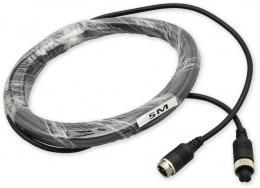 PKT-RCA-5m kabel video 4pin RCA, F/M, 5m