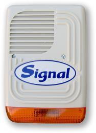 PS-128 SIGNAL zálohovaná magnetodynamická siréna