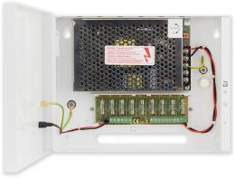 PS-BOX-12V5A9x0,5A kamerový zdroj 12V/5A/9x0,5A v boxu
