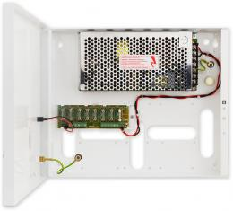 PS-BOX-12V8A8x1A kamerový zdroj 12V/8A/8x1A v boxu