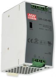 PS-DIN 120-48 spínaný zdroj 48V=/2,5A na DIN, ochrany