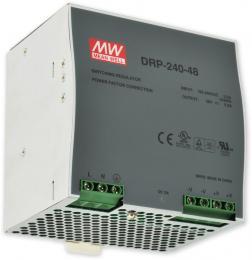 PS-DIN 240-48 spínaný zdroj 48V=/3,5A na DIN, ochrany