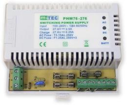 PS-DIN-27V2,5A7Ah pomocný zdroj