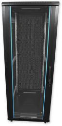 PSP.6827 stojanový, 27U, 600 x 800, sklo/plech