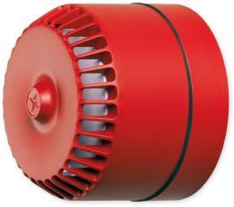 ROLP 32 vysoká - červená siréna válcová venkovní