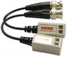RX-100C HDCVI/TVI/AHD balun, šroubovací svorky, 8 Mpix, 2ks, ESD
