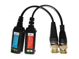 RX-GL218C pasivní převod signálu AHD/TVI/CVI/CVBS na UTP +oddělovač zemní smyčky