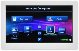 TM70 barevná grafická dotyková klávesnice