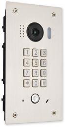 VFC-1-KL-MECH-ZAP venkovní zápustná jednotka s fisheye kamerou a mech. klávesnicí