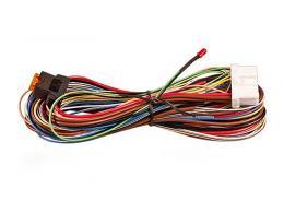 VOD-025.00 kabeláž CA-340 připoj.s LED a tlačítkem