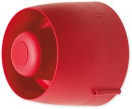 VTG 32 DB - červená siréna válcová venkovní