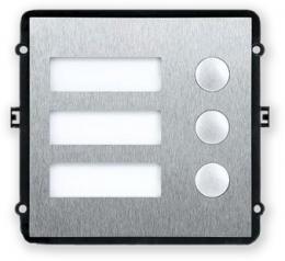 VTO2000A-B rozšiřující dveřní modul se 3 tlačítky