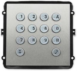 VTO2000A-K(V2) rozšiřující dveřní modul s klávesnicí